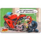 """【motogadget】【MOTOmania Breakfast Board """"Gut Geschmiert""""】早餐桌墊  Webike摩托百貨"""