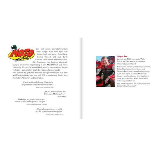 "【motogadget】【Motomania Stand-Up Book ""Leise ist Scheisse!""】桌上型漫畫 | Webike摩托百貨"