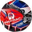 2021 MotoGP-Pramac Racing-車隊積分